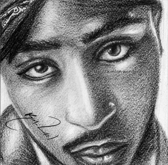 Tupac por kim-lan